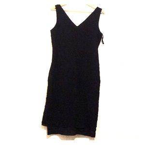 Calvin Klein V-neck Sleeveless Dress